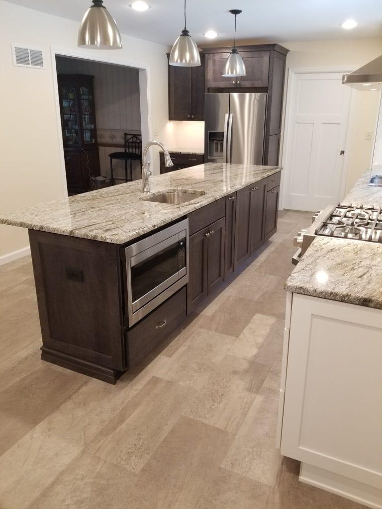 Allen Kitchen Remodel Microwave