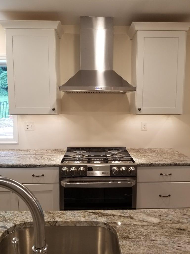 Allen Kitchen Remodel Stove
