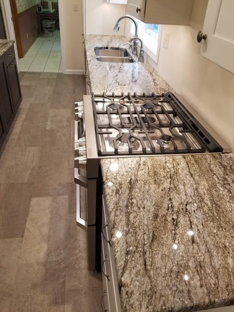 Allen Kitchen Remodel Stove Closeup