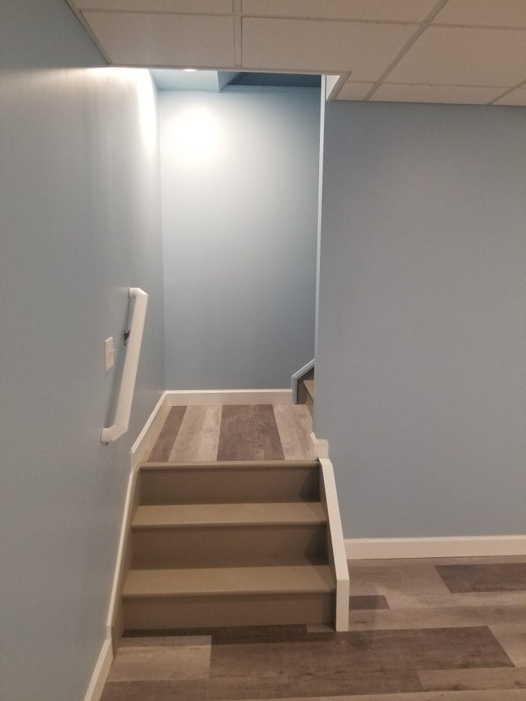 Levangood Basement Stairs Closeup