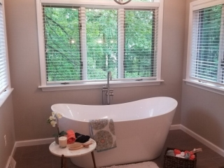 Smith Master Bath Remodeled Tub