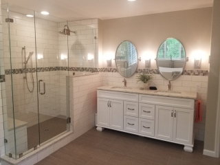 Smith Master Bath Remodeled Sinks