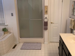 Smith Master Bath Shower Before