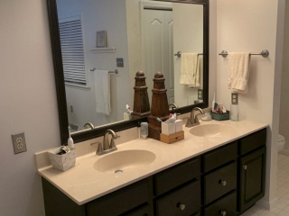 Smith Master Bath Sinks Before