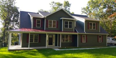 Two Story Home built by Eagle Construction & Remodeling