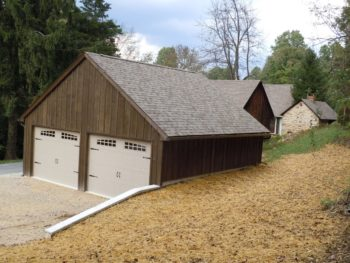 Garage addition built by Eagle Construction & Remodeling
