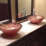 Bathroom sinks remodeled by Eagle Construction