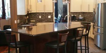 kitchen island upgrade