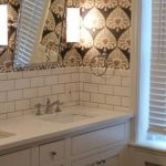 classic subway tile master bathroom