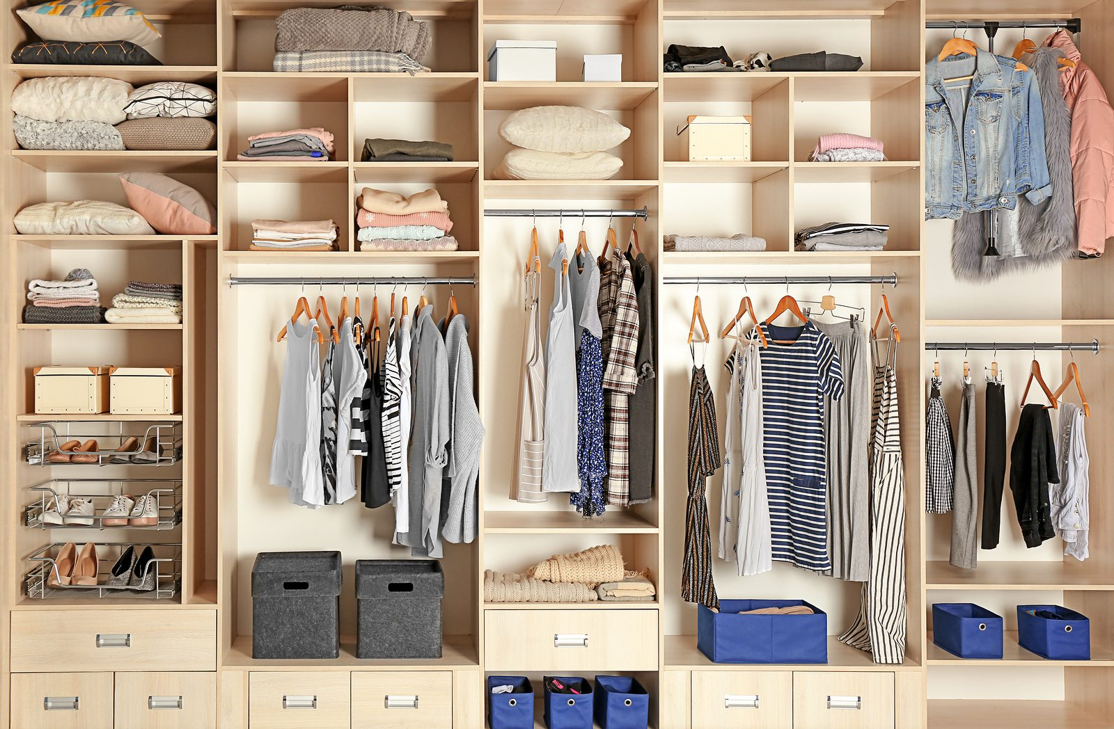 Built In Storage Ideas Custom Closets