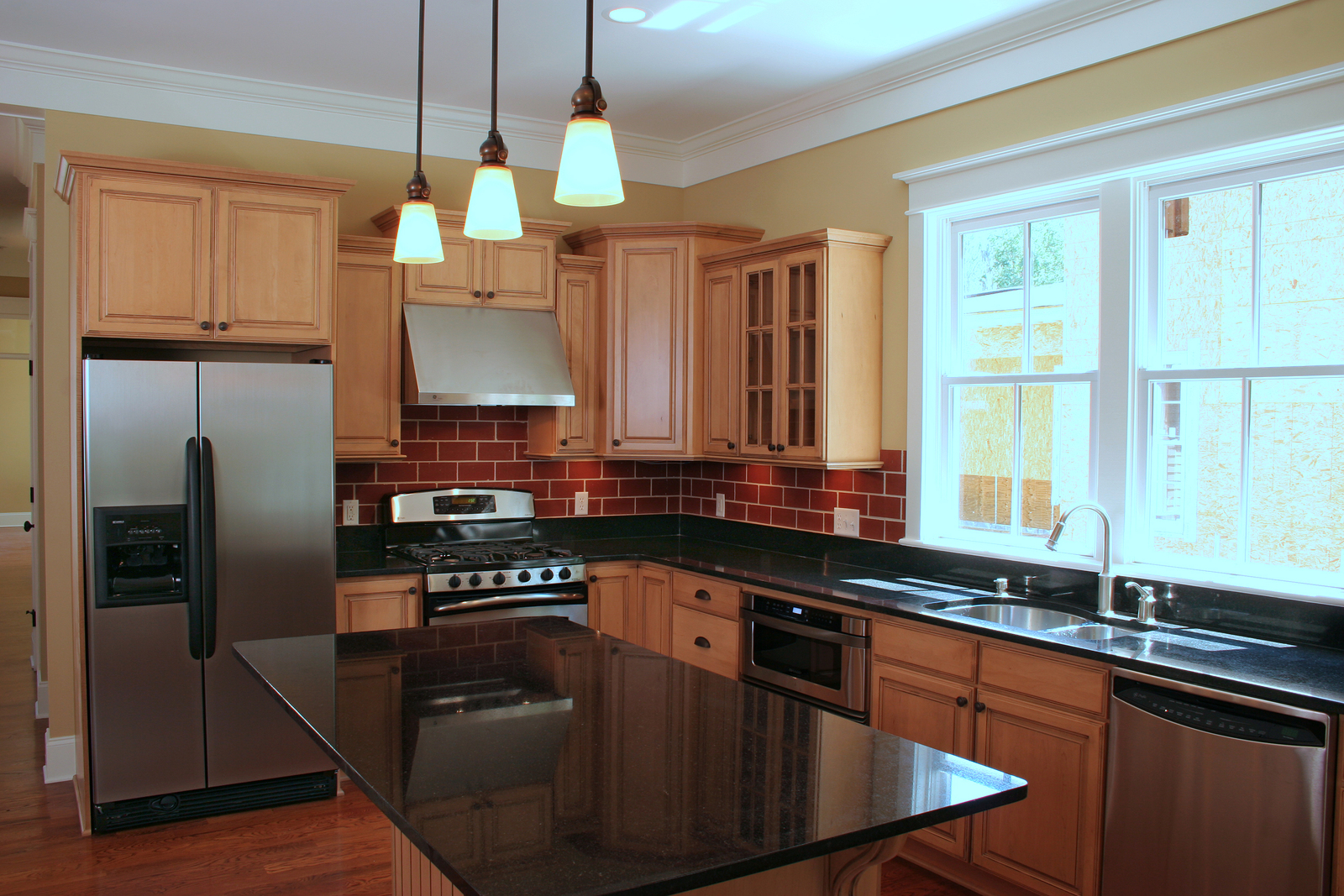 new kitchen remodel with appliances