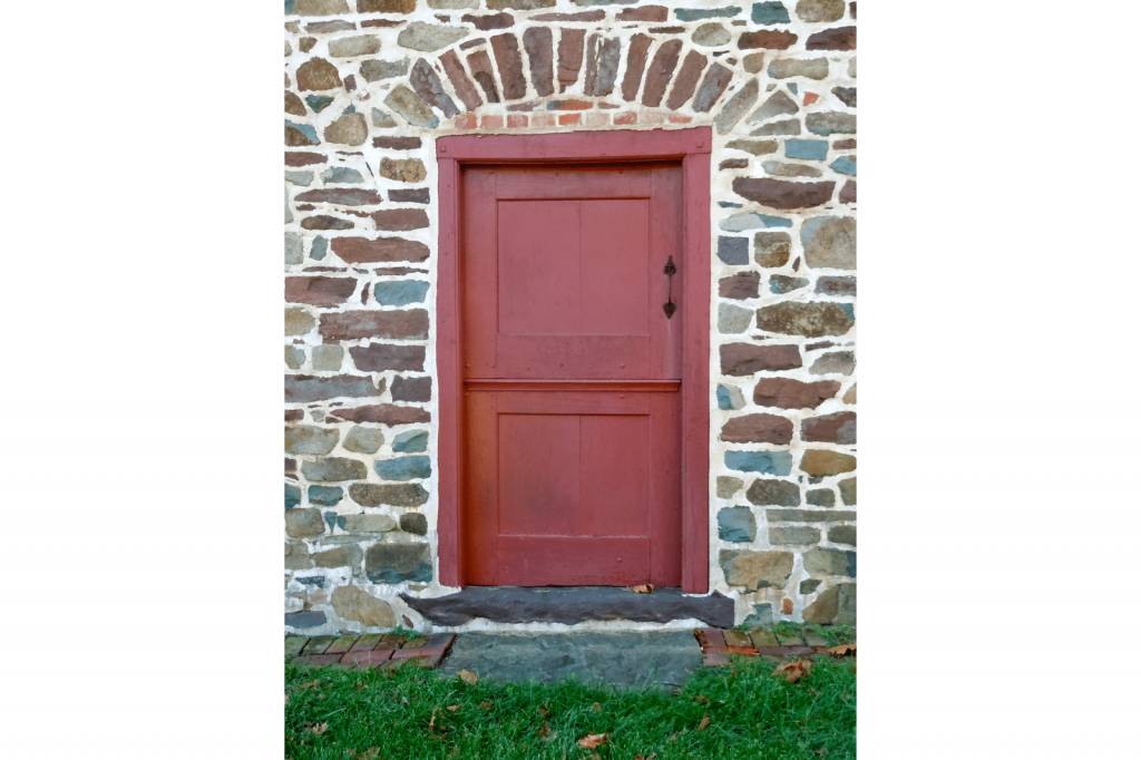 red dutch door