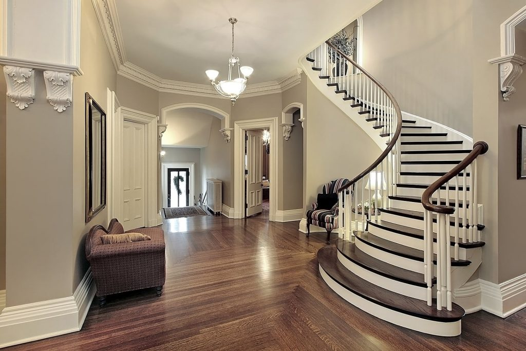 beautiful classic staircase